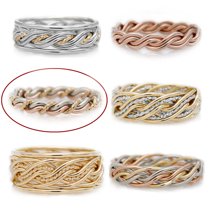 Different braided band options